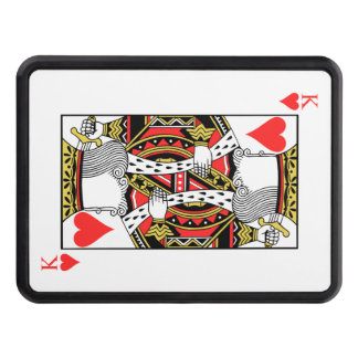 King of Hearts - Add Your Image Trailer Hitch Cover