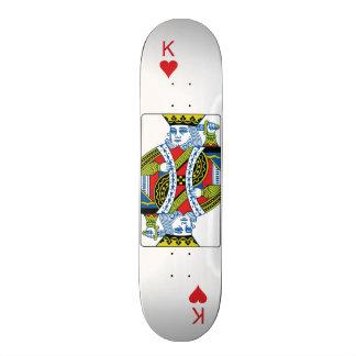 King of Hearts Board Skateboard Deck