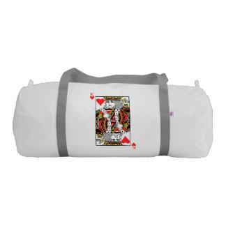 King of Hearts Gym Bag