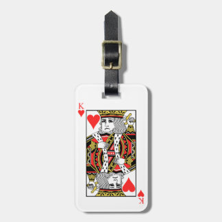 King of Hearts Luggage Tag