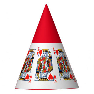 King of Hearts party hat