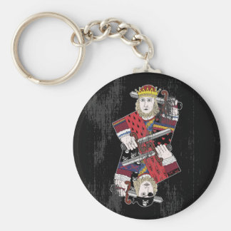 King Of Hearts & Pirate Too Keychain