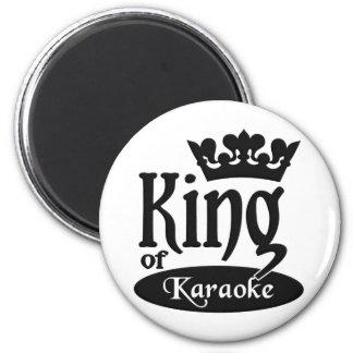 King of Karaoke magnet