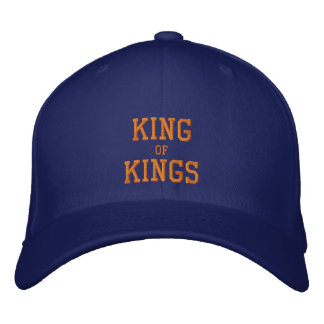 KING, of, KINGS Embroidered Hat