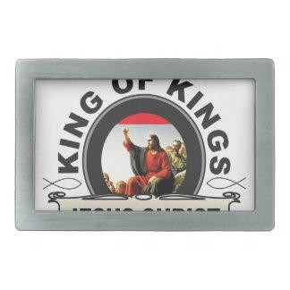 King of kings JC Rectangular Belt Buckle