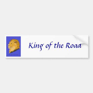 King of Lions Bumper Sticker