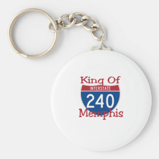 King Of Memphis Keychain