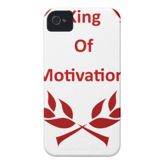 king of motivation Case-Mate iPhone 4 case