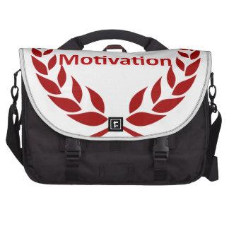king of motivation laptop shoulder bag