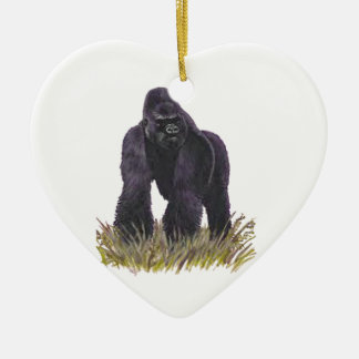 KING OF MOUNTAINS CERAMIC HEART ORNAMENT