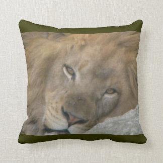 King of Nap Time Throw Pillow