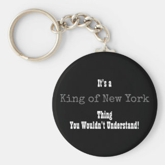 King of New York Keychain