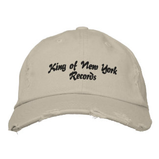 King of New York Records hat (ten indians) Embroidered Hats