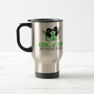 """""""King of Pain"""" Physical Therapy Travel Mug"""