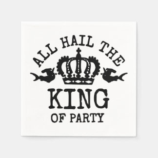 King of Party Paper Napkin