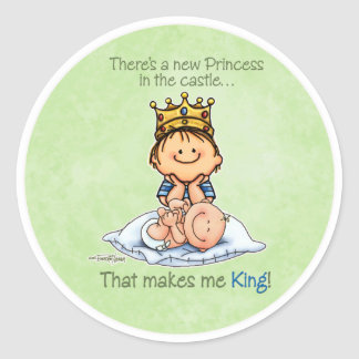 King of Princess - Big Brother stickers
