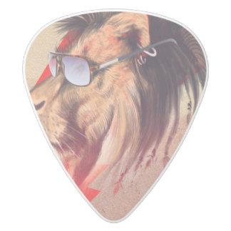 King of Rock White Delrin Guitar Pick