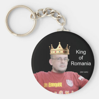King of Romania - keychain