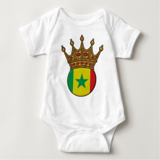 King Of Senegal Baby Bodysuit