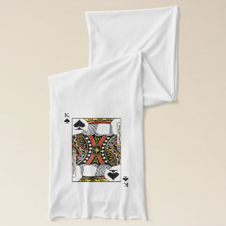 King of Spades - Add Your Image Scarf