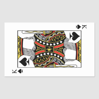 King of Spades - Add Your Image Sticker