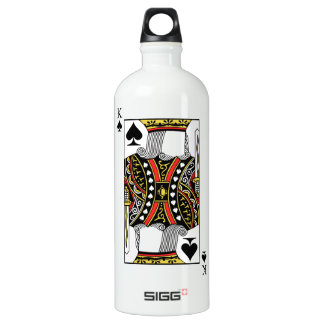 King of Spades - Add Your Image Water Bottle
