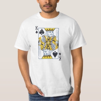 King of spades distressed vintage style T-Shirt