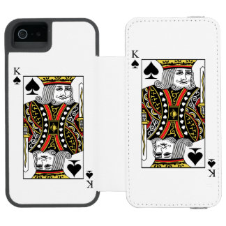King of Spades Incipio Watson™ iPhone 5 Wallet Case
