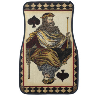 King of Spades Playing Card by Vision Studio Auto Mat
