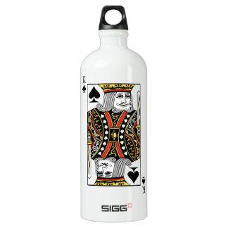 King of Spades Water Bottle