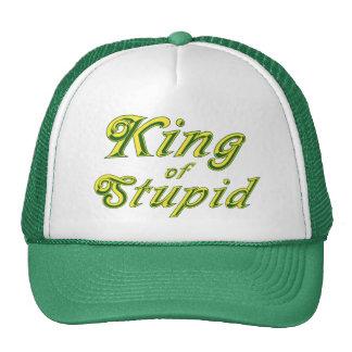 King of Stupid Trucker Hat