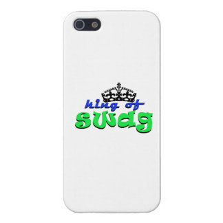 king of swagg iPhone 5 cases