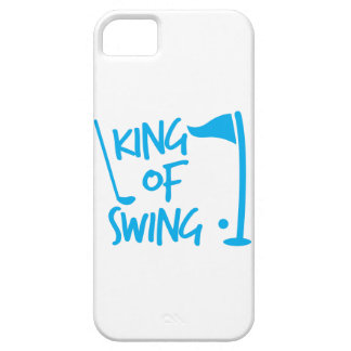King of SWING! golf ball and golf club Case For The iPhone 5