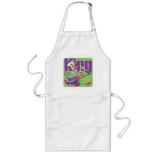 King of the Barbeque Long Apron