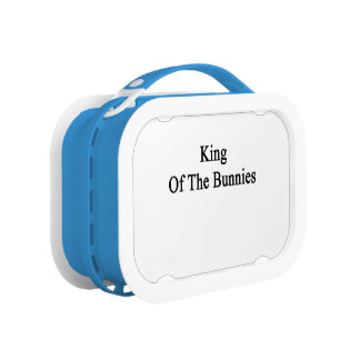 King Of The Bunnies Lunch Box