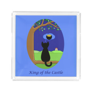 King of the Castle Acrylic Tray
