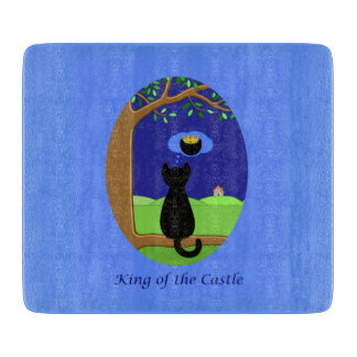 King of the Castle Cutting Board