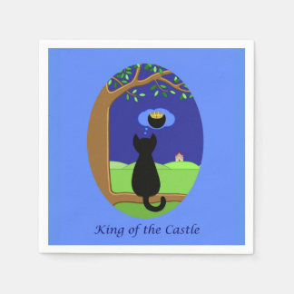 King of the Castle Disposable Napkins