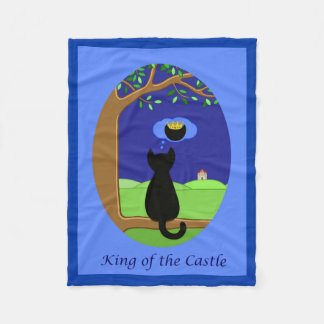 King of the Castle Fleece Blanket
