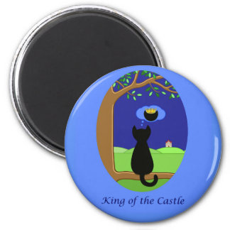 King of the Castle Magnet