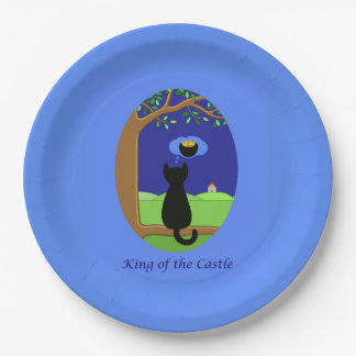 King of the Castle Paper Plate