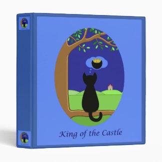 King of the Castle Vinyl Binders
