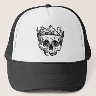 King of the Dead Skull Trucker Hat