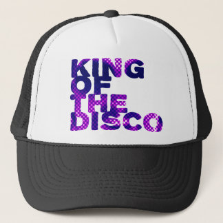 King of the Disco Trucker Hat