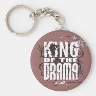King of the Drama Keychain