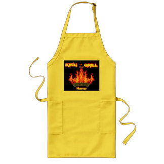 King of the Grill Dad s Gift Apron Chef Cook
