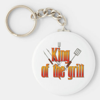 King of the Grill Keychain