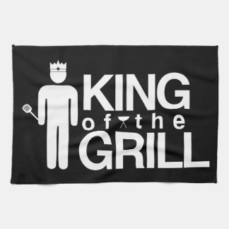 King of the Grill Kitchen Towel
