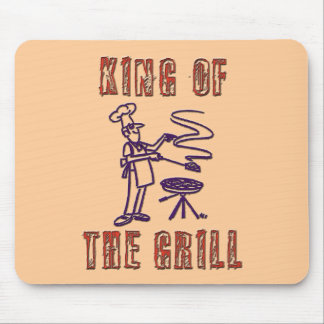 KING OF THE GRILL MOUSE PAD