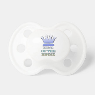 King of the House Baby Pacifier